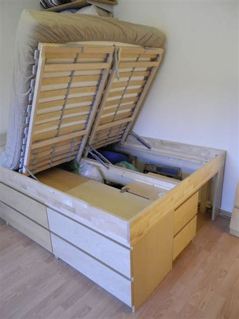 ikea hack platform bed with storage best 25 ikea storage bed ideas on pinterest ikea