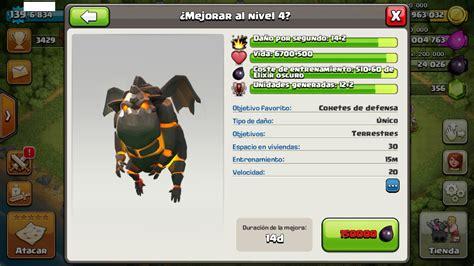 imagenes de las tropas oscuras de clash of clans actualizacion archivos guia clash of clans