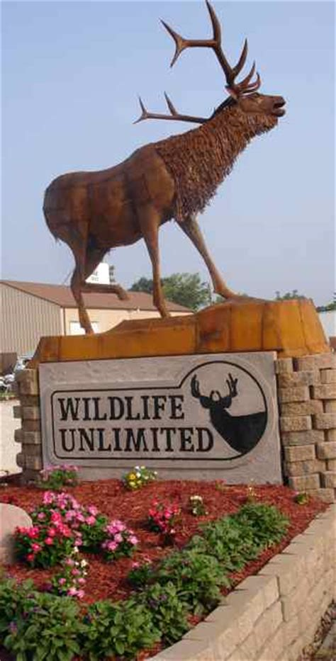 wildlife unlimited sign cuba mo cuba mo route 66