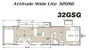 Eclipse Attitude Toy Hauler Floor Plans Eclipse Attitude Widelite Toy Hauler Attitude Toy Haulers