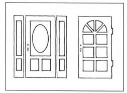 Window Templates by Window Template Doors Make An Impression