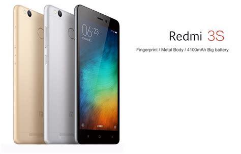 Xiaomi 3s 16gb By Kahfi Store xiaomi redmi 3s fingerprint 4100mah 5 0 quot 2gb ram 16gb rom