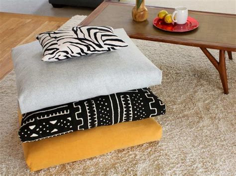 How To Make A Floor Pillow by Floor Pillows Adorn Interior With Style