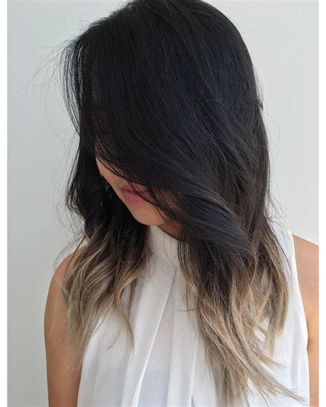 hombre hair coloring techniccs 30 fascinating black ombre hair ideas colors of midnight