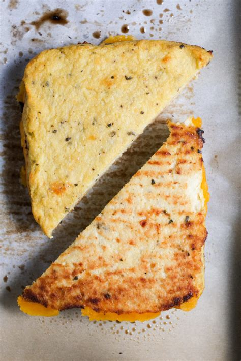 cauliflower grilled cheese grilled cheese with cauliflower as the crust healthy