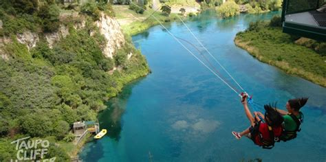 swing new zealand swing taupo cliffhanger everything new zealand