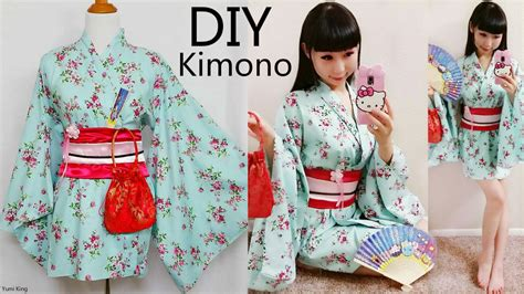 kimono pattern youtube diy easy kimono yukata with easy pattern by yumiking on