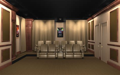 acoustic wall panels home theater noise