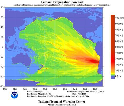 earthquake tsunami tsunami warning lifted after chile earthquake world news
