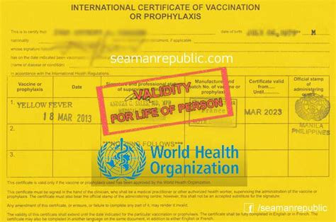 yellow fever research paper who yellow fever vaccine now has lifetime validity