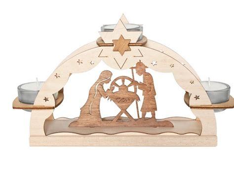 Weihnachtsdeko Fenster Erzgebirge by Lichterbogen Teelichthalter Erzgebirge Krippe