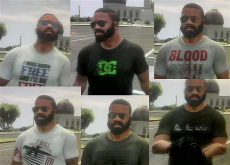 hairstyles and beards gta v new beard for franklin swap extra dark sunglasses