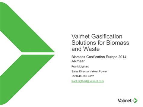Valmet Corporation Valmet Gasification Frank Ligthart