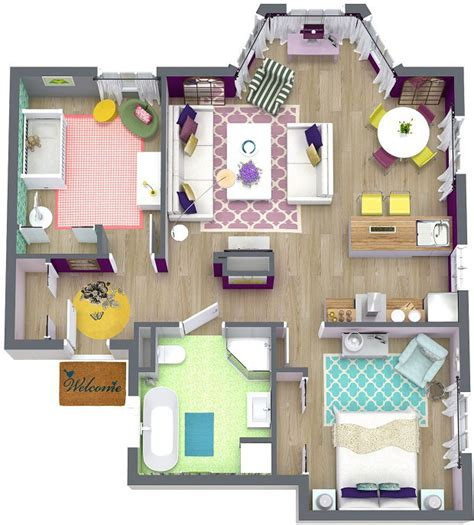3d floor plans roomsketcher create professional interior design drawings online
