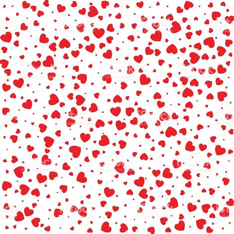 pattern heart vector vector valentines day card seamless pattern red small