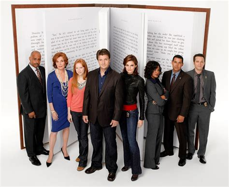 Castle Tv Series Review Sava Reviews Cast Of The With The