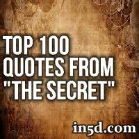 """Top 100 Quotes From """"The Secret"""" : In5D Esoteric ..."""