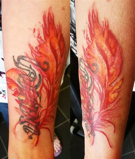 watercolor tattoos feather watercolor designs ideas and meaning