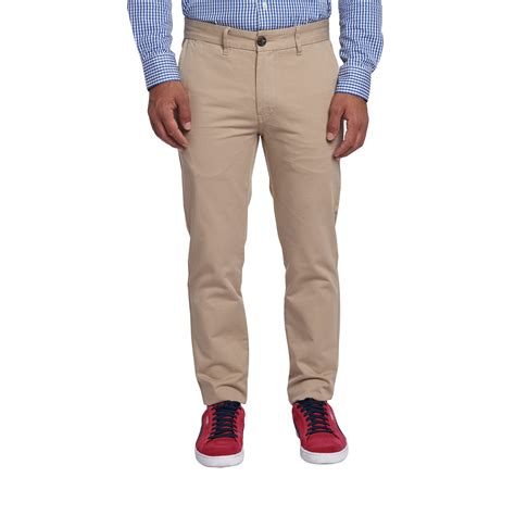 Slim Fit Chinos   Khaki ? Peter Manning NYC