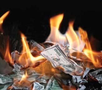 burning money for new year burning money above the