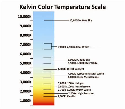 Fact Sheet Bulklights Com Energy Saving L E D Lights Led Light Bulb Color Chart