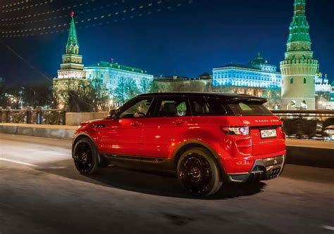 range rover evoque modified larte design range rover evoque modified autos world blog