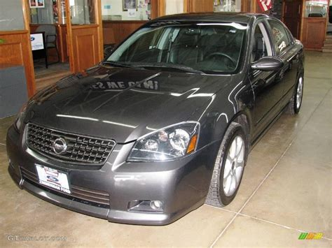 2005 smoke metallic nissan altima 3 5 se r 3796472