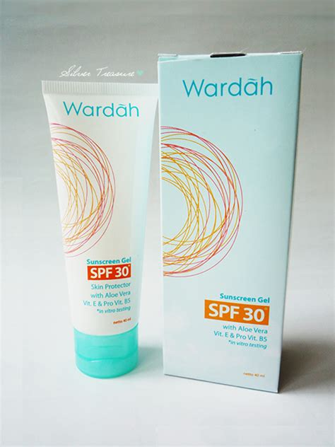 Wardah Sunscreen wardah sunscreen gel spf 30 silver treasure on a budget