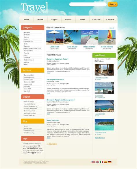 wordpress layout guide travel guide wordpress theme 27338