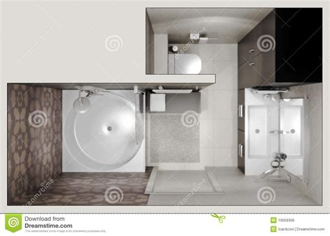 top view bathroom top view of the bathroom royalty free stock image image