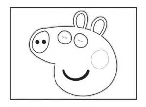 View and print the face mask peppa pig activity