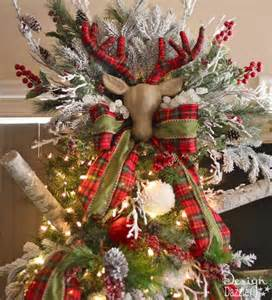 Reindeer Christmas Tree Topper » Home Design 2017