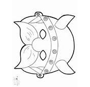 FunnyColoringcom / Crafts Masks Paper Mask Viking