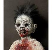 Scary Zombie Face 02 In Strange Art Of