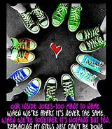 Converse Shoe Circle
