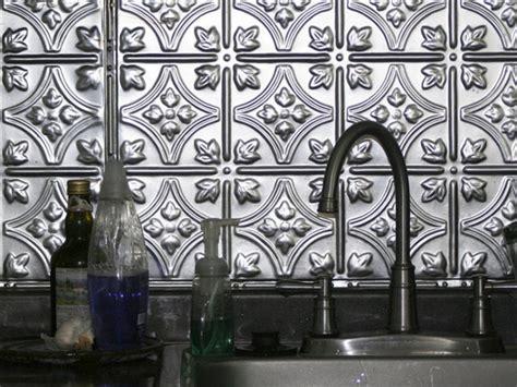 metal backsplash ideas kitchen ideas design with