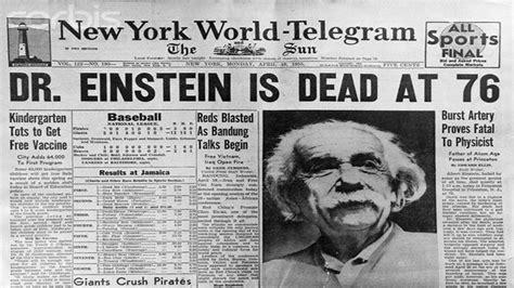 albert einstein biography death albert einstein on life sustaining treatment in the icu