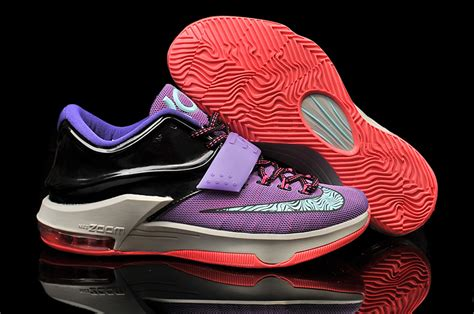 2015 nike kd 7 purple black grey pink basketball shoes