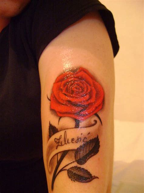 20 attention grabbing rose tattoo designs sheideas