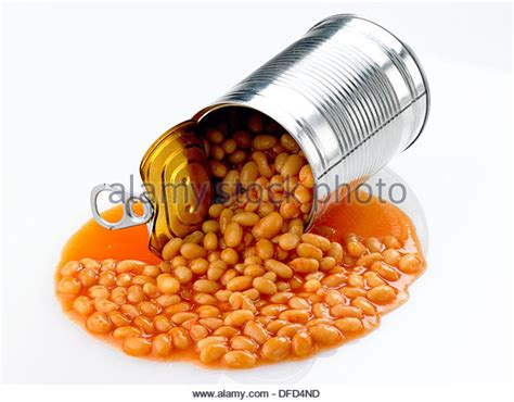 Spills The Beans by Beans Can Stock Photos Beans Can Stock Images Alamy