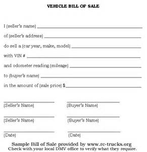 to print the bill of sale form place your mouse pointer over