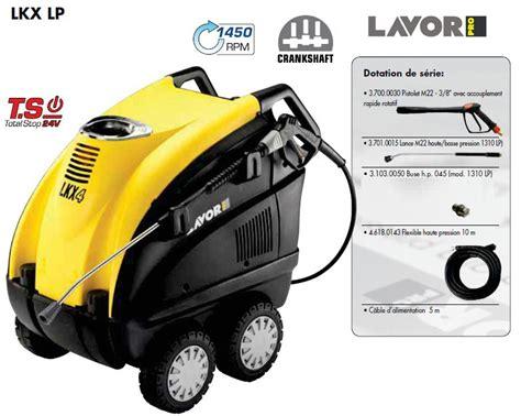 Nettoyeur Haute Pression Lavor 1841 by Lavor Pro Lkx 1310 Lp 8 621 0947 Eau Chaude Pro