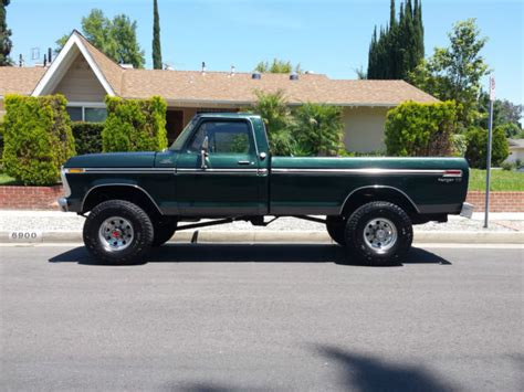 1977 ford f250 parts 1977 ford ranger xlt f250 4x4 highboy beast 351 v8 4 speed