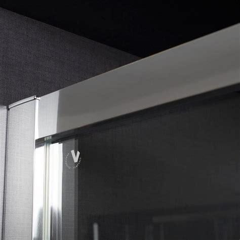 porta doccia 90 cm porta doccia apertura a soffietto da 90 cm in cristallo