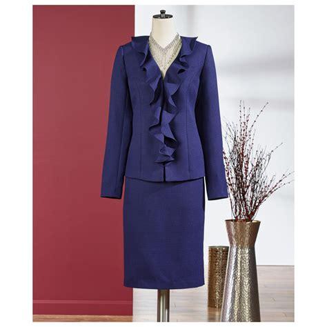 Ruffle Jacket ruffle jacket and skirt suit ebay
