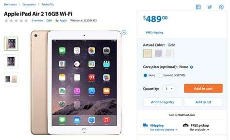 Ipad Air Gift Card Walmart - walmart to start black friday sales a week early with special offers on apple s ipad
