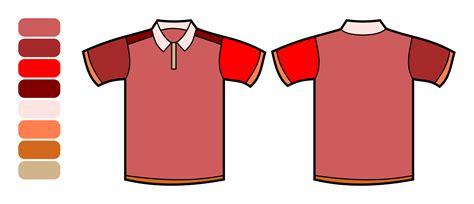 polo shirt template clipart polo shirt template color remix