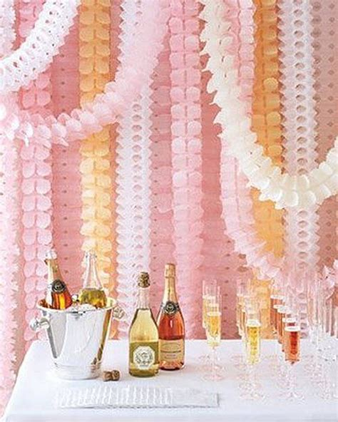 Garland With Paper - paper tissue garland decorations