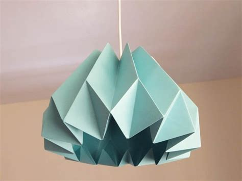 Origami Green Lantern Ring - green ideas for diy paper ls chandeliers lanterns