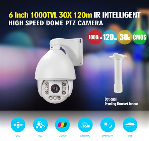 Gsb 427 Ir Analog Cctv by 6 Inch 120m Ir Infrared Analog 1000tvl Ptz 30x Optical